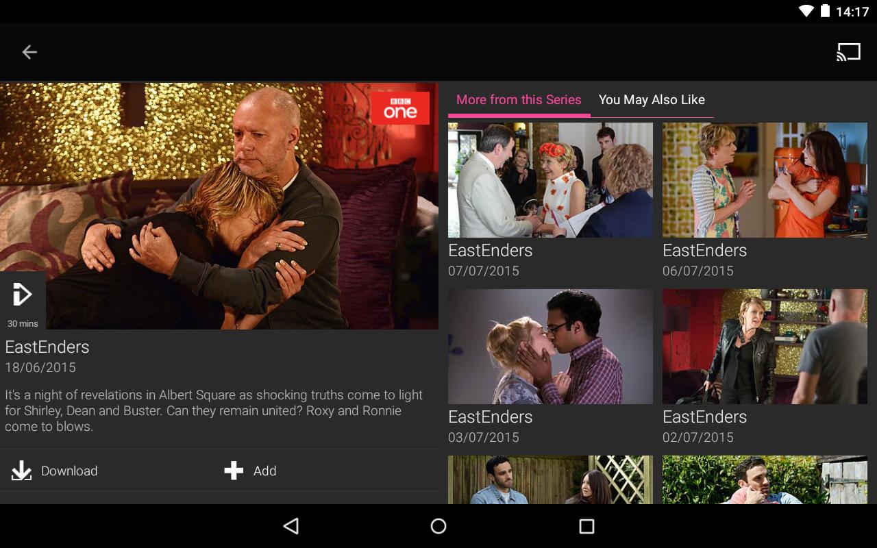 BBC iPlayer screenshot #23