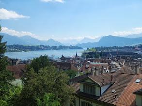 Photo: pohled od městských hradeb