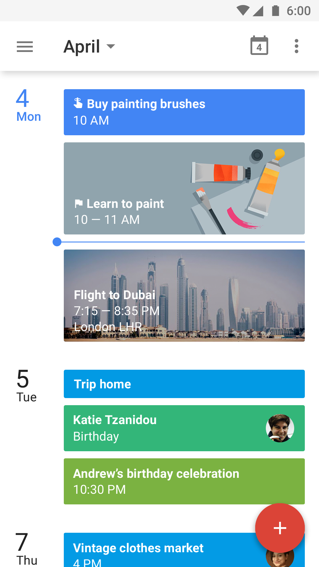 Google Calendar screenshot #1
