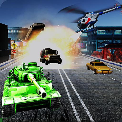 Tank Mad Race Shooting