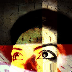 I am more than an ID number by Mansi Bhatia - People Portraits of Women ( face, iphoneography, decim8, woman, portrait, eyes )