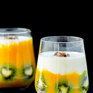 Apricot Ginger Turmeric Smoothie.
