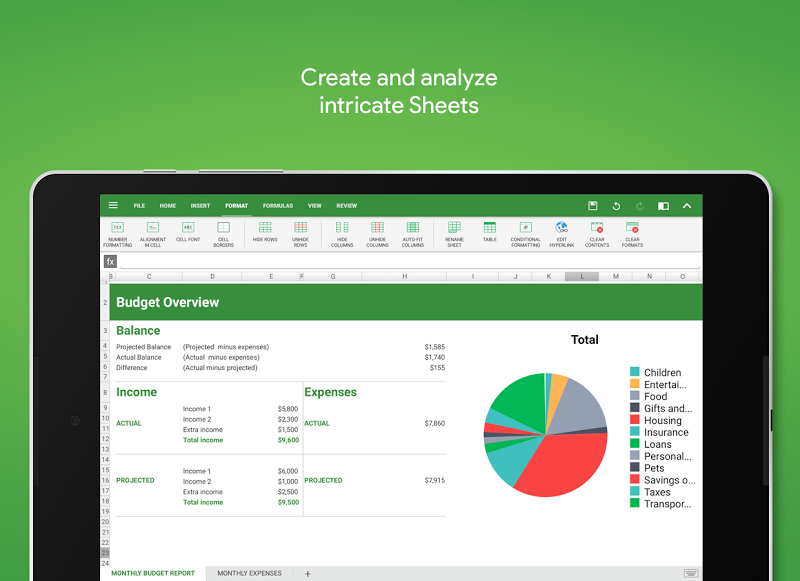 OfficeSuite : Free Office + PDF Editor Screenshot 9