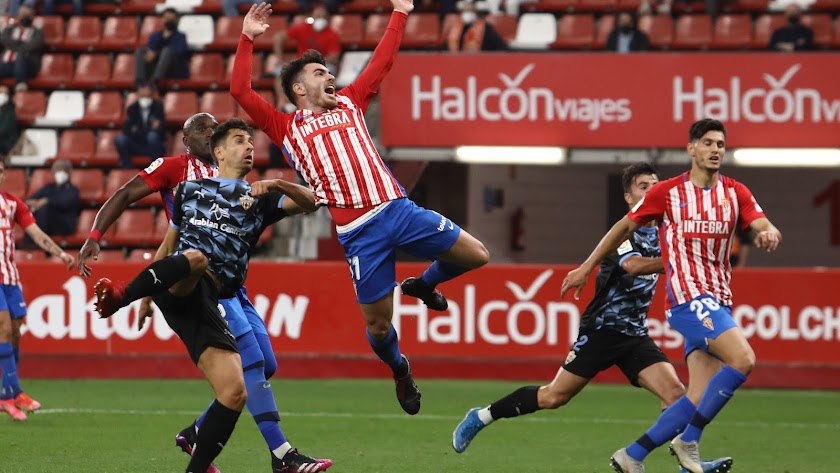 El Sporting-Almería de la pasada temporada.
