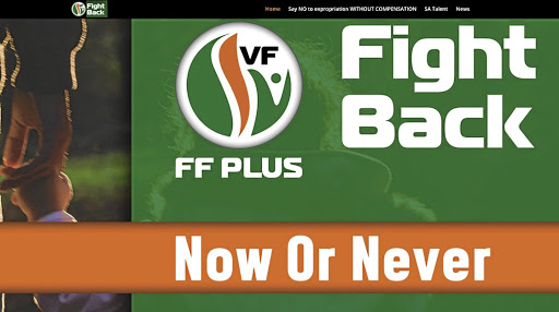 The 'Fight Back' message from the FF+ seems to suggest a people under attack, says the writer.