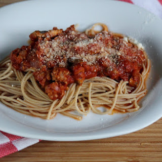 Spaghetti with Meat Sauce.