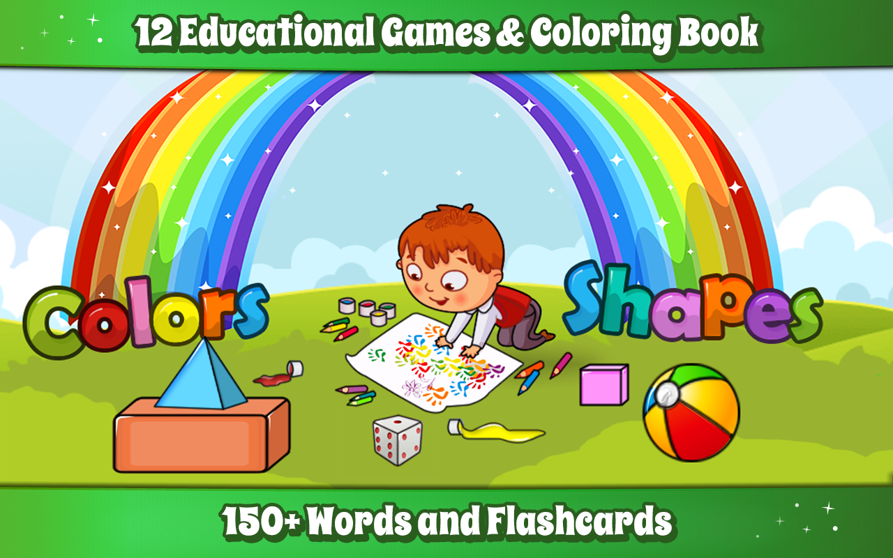 Shapes & Colors Learning Games For Kids, Toddler