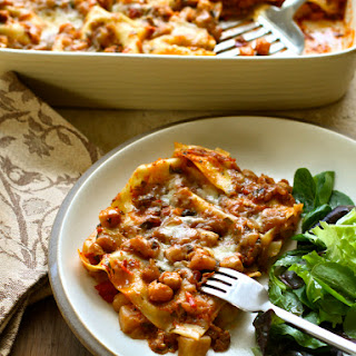 Eggplant & Cheddar Lasagna