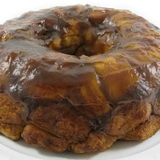 Pumpkin Caramel Monkey Bread Made Skinny