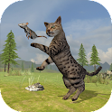 Wild Cat Survival Simulator icon