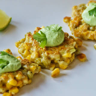 Corn and Pea Fritters.