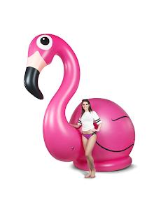 Uppblåsbar, flamingo 3,5m hög