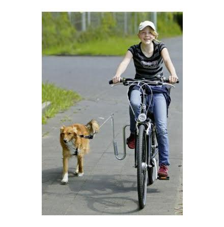 Hundkoppelhållare för Cykel