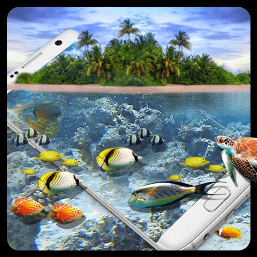 Aquarium Dolphin HD Wallpaper