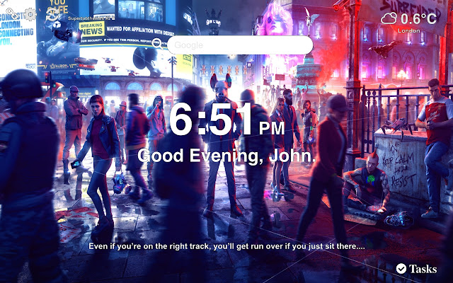 Watch Dogs Legion Wallpapers New Tab