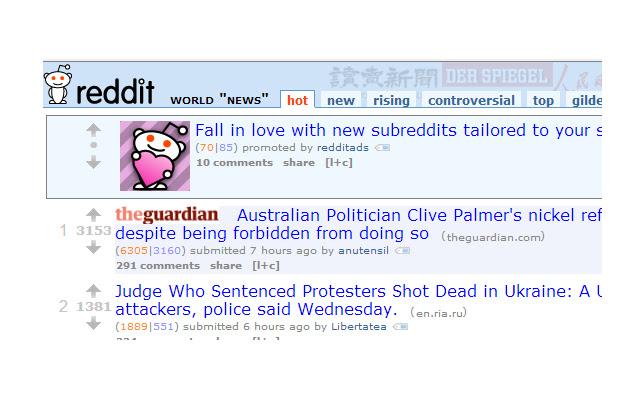 Reddit News Fixer