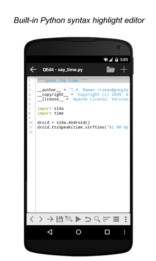 QPython3 - Python3 for Android 1.3.2 screenshots 2