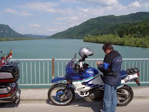 Photo: N46 33.444 E14 24.991 Draubrücke bei Goritschach