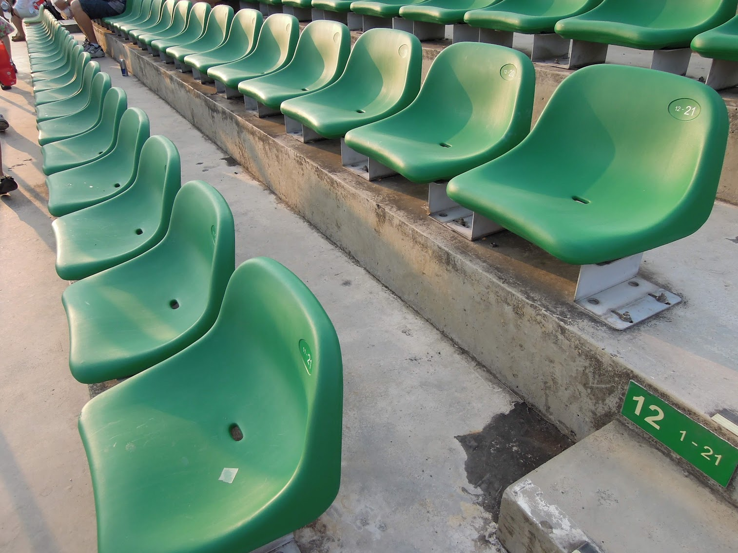 Bay Grandstand Dark Green