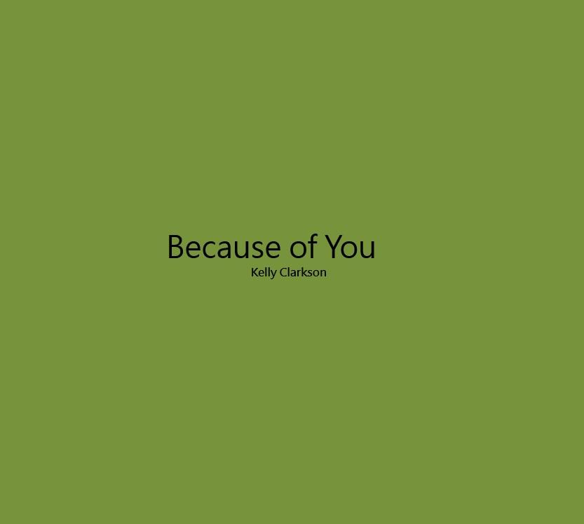 Because of You Lyrics - Android Apps on Google Play