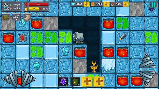 Digger Machine 2 - dig diamonds in new worlds 1.1.1 mod screenshots 1