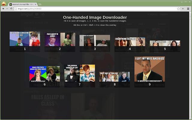 One-Handed Image Downloader