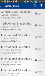 IPFW Mobile- screenshot thumbnail