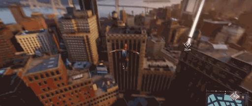 スパイダーマンPS4:ニューヨーク夕方