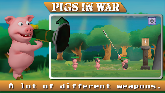Pigs In War - Strategy Game Screenshot