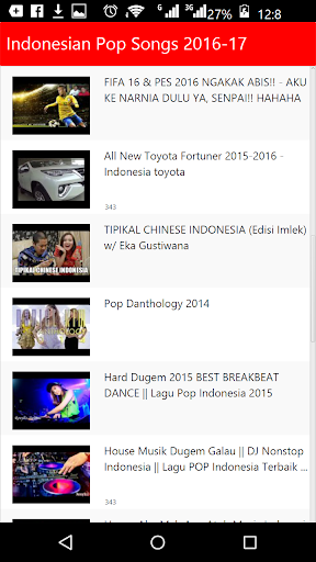 Indonesian New Songs 2016