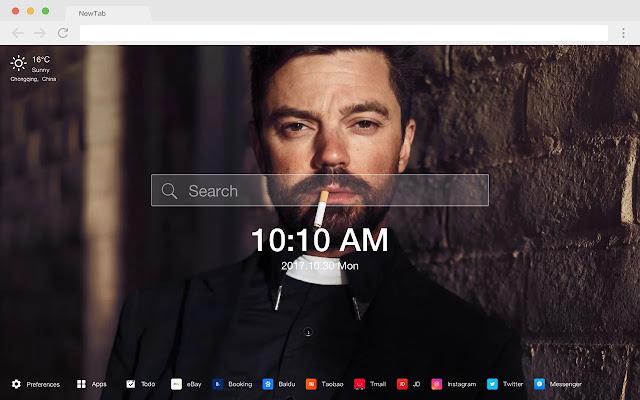 Dominic Cooper Stars New Tabs HD Themes