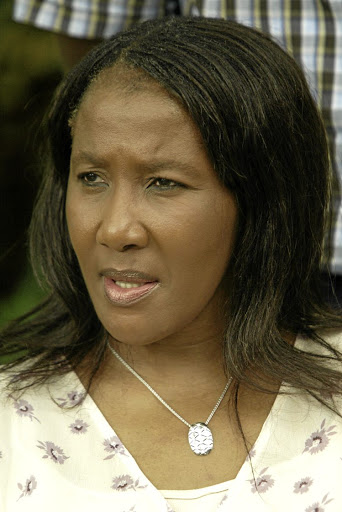Makaziwe Mandela would not say whether she gave permission for the book.