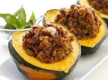 Sausage Stuffed Acorn Squash Recipe