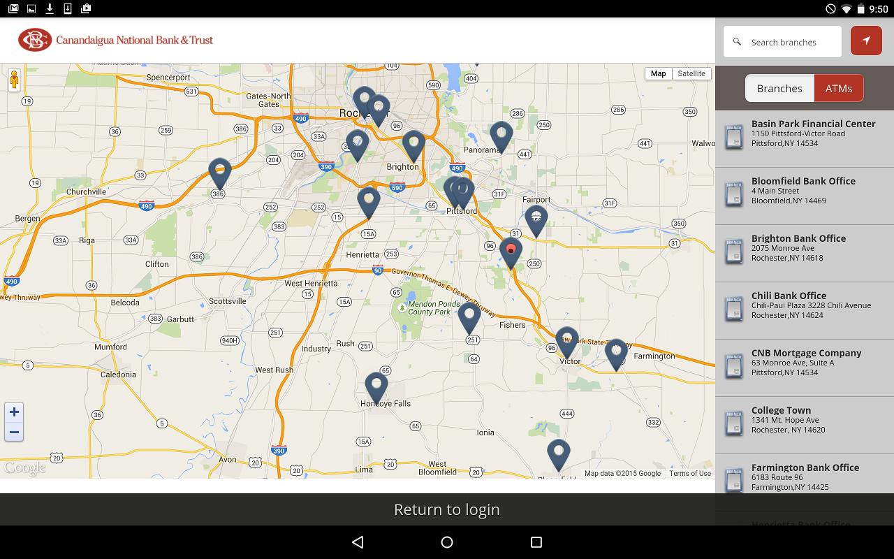 CNB Mobile Online Banking- screenshot
