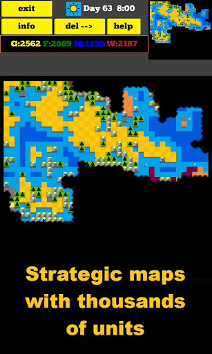 RAWAR2 offline strategy game (RTS) - screenshot