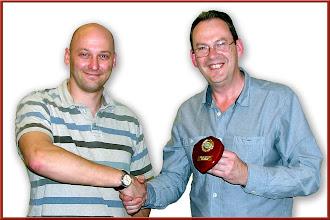 Photo: Nick Keeler - First Club site Coin - presented by Kurt Adams