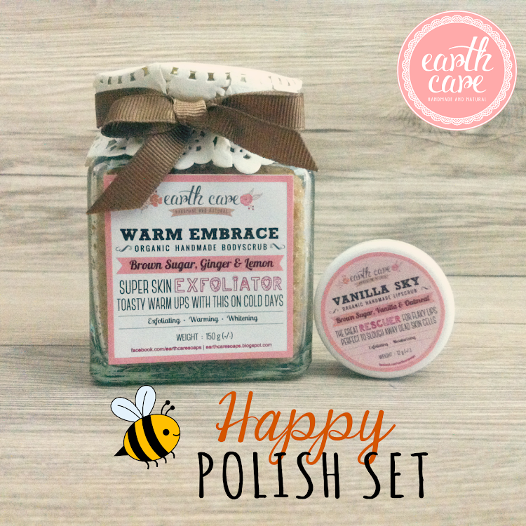 Happy Polish Set by Earth Care Soaps