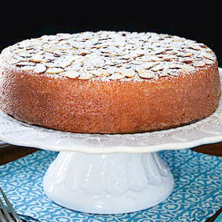 French Almond Cake.
