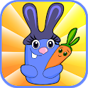 Bunny Words - 3D Splash Cards For Kids icon