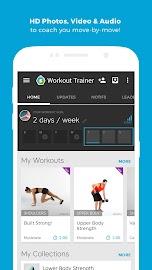 Workout Trainer fitness coach Screenshot 3