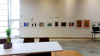 Photo: There's art displayed all over the building, including this dedicated gallery space.