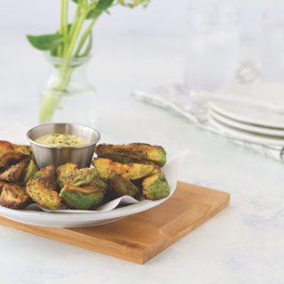 Ketogenic Avocado Fries.