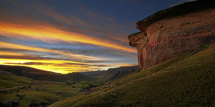 Golden Gate National Park in Clarens.