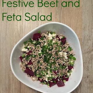 Festive Beet and Feta Salad