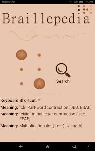 Braillepedia - náhled