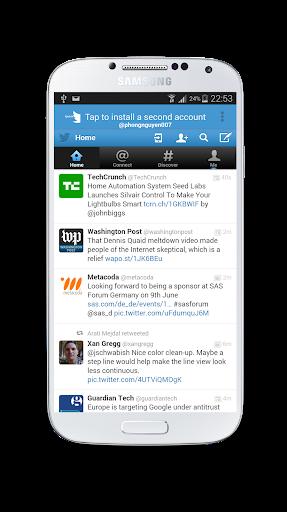 Multi Login for Twitter
