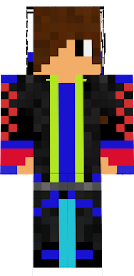This Is My Cool Creeper Boy Skin