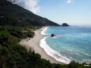Photo: pláž Potami za Karlovasi se Sámosanama
