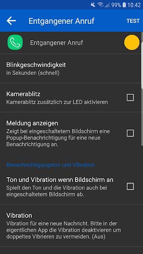 LED Blinker Benachrichtigungen - Steuer dein Licht screenshot 9