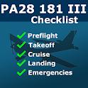 PA28 181 Archer III Checklist